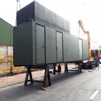 Engine test acoustic container